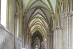 Visiting Wells Cathedral on 'day off' - a slightly different kind of spirituality